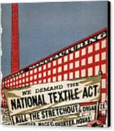 Labor Poster, 1935 Canvas Print by Granger