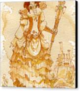 Lady Codex Canvas Print by Brian Kesinger