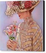Lady Jessica Canvas Print by Sue Halstenberg