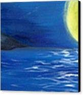 Lady Moon Canvas Print