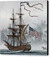 Lady Washington Canvas Print by James Williamson