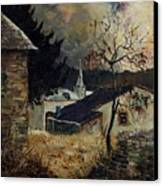 Laforet Ardennes Village  Canvas Print