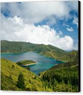Lagoa Do Fogo Canvas Print