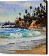 Laguna Beach  Canvas Print by Gary Kim