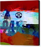 Laguna Seca Racing Cars 1 Canvas Print