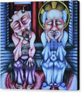 Laissez Faire Canvas Print by Maryska Torresowa