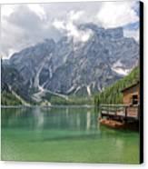 Lake Braies Canvas Print