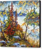 Lake Cartier Canvas Print