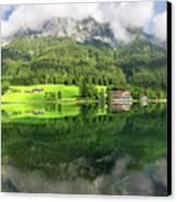 Lake Hintersee Canvas Print