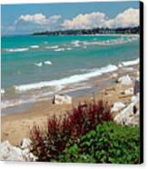 Lake Huron Ontario Canvas Print