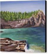 Lake Huron Canvas Print