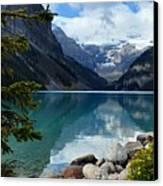 Lake Louise 2 Canvas Print by Larry Ricker