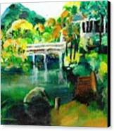 Lake Malibu Canvas Print