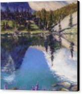 Lake Marie Canvas Print by Zanobia Shalks