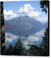 Lake Mcdonald Glacier National Park Canvas Print