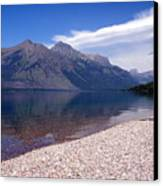 Lake Mcdonald Reflection Glacier National Park 4 Canvas Print
