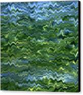 Lake Tahoe Abstract Canvas Print by Carol Groenen