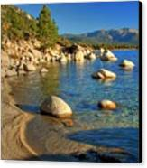 Lake Tahoe Tranquility Canvas Print by Scott McGuire