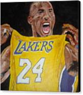 Lakers 24 Canvas Print