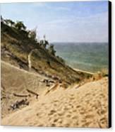 Laketown Dune Panorama Canvas Print