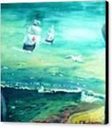 Land Ahoy Canvas Print