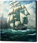'land Ho' Cutty Sark Canvas Print by Colin Parker