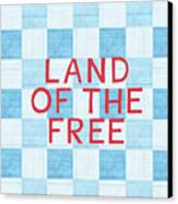 Land Of The Free Canvas Print by Linda Woods
