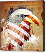 Land Of The Free Canvas Print by Robert  Adelman