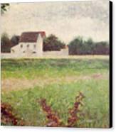 Landscape In The Ile De France Canvas Print