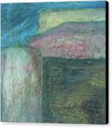 Landscape With Houses Canvas Print