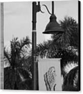 Lantana Lamp Post Canvas Print