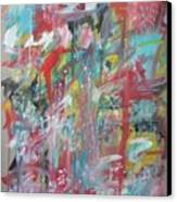 Large Abstract No 3 Canvas Print