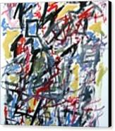 Large Abstract No. 5 Canvas Print