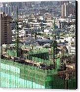 Large Scale Construction Site Canvas Print by Yali Shi