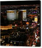 Las Vegas Strip Canvas Print by Kristin Elmquist