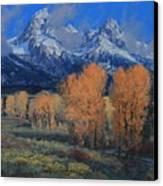 'last Leaves' Canvas Print