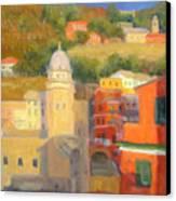 Last Light - Vernazza Canvas Print