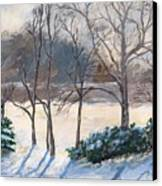 Last Night's Snow Canvas Print by Elizabeth Lane