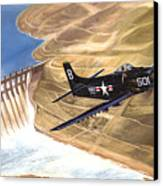 Last Of The Dambusters Canvas Print by Marc Stewart