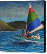 Last Sail Before The Storm Canvas Print