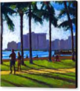 Late Afternoon - Queen's Surf Canvas Print