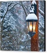 Late Afternoon Snow Canvas Print