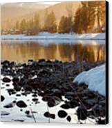 Late Aternoon  Lake Tahoe Canvas Print