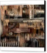 Lathe Canvas Print