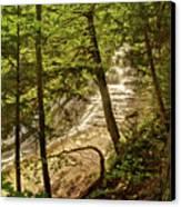 Laughing Whitefish Falls 2 Canvas Print
