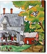 Laundry Day Canvas Print by Linda Marcille