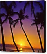 Launiupoko Sunset Canvas Print