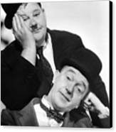 Laurel And Hardy, 1939 Canvas Print