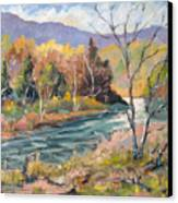 Laurentian Hills Canvas Print