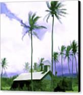 Lava Rock Church Canvas Print